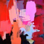 Untitled. Acrylic on Canvas. 120 x 120 cm. 2017 Nesodden